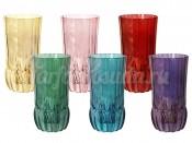 "Набор стаканов 350 мл 6 шт. ""Адажио"" цветная"