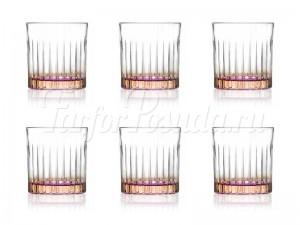 """Набор стаканов 360 мл 6 шт. """"Джипси"""" оранжевые"""