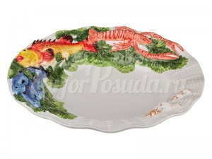 """Блюдо 39 см """"Рыбы"""""""