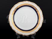 """Набор десертных тарелок 19 см 6 шт. """"Кобальт золото"""" Мария Луиза"""