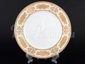 """Набор десертных тарелок 19 см 6 шт. """"Золотая роза Крем"""" Нина"""