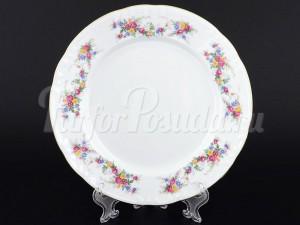 """Набор десертных тарелок 19 см 6 шт. """"Цветочный сарафан"""" Констанция"""