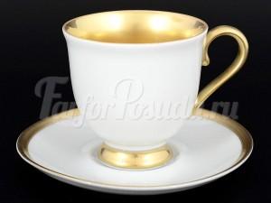 "Набор для чая 220 мл ""Голди"" Корона на 6 перс. 12 пред."