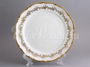 """Набор пирожковых тарелок 17 см 6 шт. """"Барокко золото 202"""""""