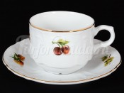 """Набор для чая 250 мл """"Фрукты"""" Бернадотт на 6 перс. 12 пред."""