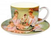 """Набор для чая 250 мл 2 пред. """"Балерины на отдыхе"""""""