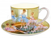 "Набор для чая 250 мл 2 пред. ""Балерины у зеркала"""