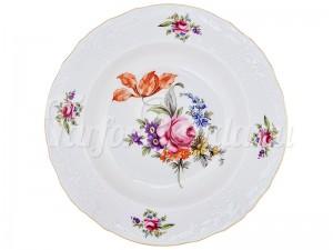 """Набор глубоких тарелок 23 см 6 шт. """"Бернадотте Полевой цветок""""."""