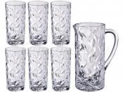 "Набор для воды 7 пред. ""Лаурус"" кувшин 1,2 л и 6 стаканов 320 мл"