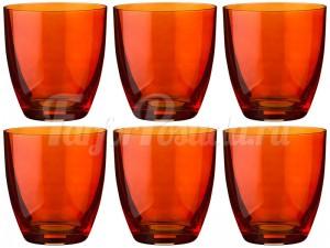 """Набор стаканов 300 мл 6 шт. """"Kate"""" оранжевые"""