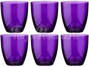 """Набор стаканов 300 мл 6 шт. """"Kate"""" фиолетовые"""