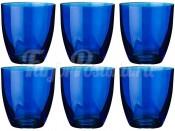 "Набор стаканов 300 мл 6 шт. ""Kate"" синие"