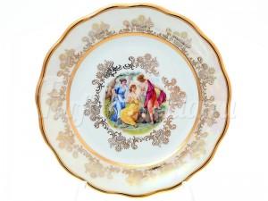 "Набор пирожковых тарелок 17 см 6 шт. ""Мадонна Перламутр"""