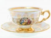 "Набор для чая 220 мл ""Мадонна Перламутр"" на 6 перс. 12 пред."