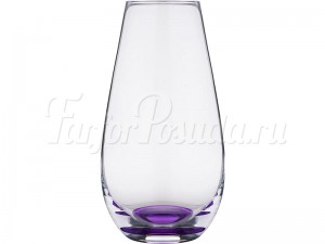 Ваза 24,5 см фиолетовая