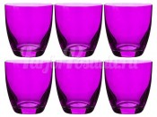 "Набор стаканов 300 мл 6 шт. ""Кейт D4789"" фиолетовые"