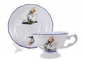 """Набор для чая 200 мл """"Гуси"""" Эпиаг на 6 перс. 12 пред."""