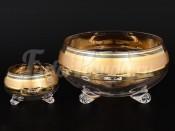 Набор 7 пред. ваза для конфет 23 см и 6 ваз для варенья 11,5 см