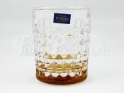 """Набор стаканов 230 мл 6 шт. """"Даймонд"""" амбер"""
