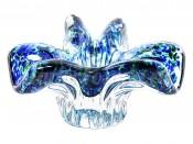 "Ваза для конфет 18 см ""Егерманн"" синяя"