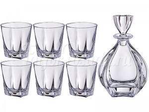 "Набор ""Лагуна"" графин 950 мл и 6 стаканов 260 мл"