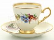 """Набор для кофе 170 мл """"Слоновая кость"""" на 6 перс. 12 пред."""