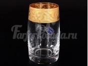"""Набор стаканов 250 мл 6 шт. """"Декор 43023"""" Идеал золото"""