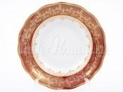 """Набор глубоких тарелок 23 см 6 шт. """"Красный лист"""" АЛ"""