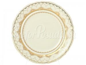 """Набор десертных тарелок 19 см 6 шт. """"Изящное золото SK"""" Соната"""