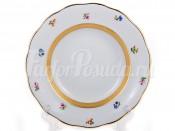 "Набор глубоких тарелок 22,5 см 6 шт. ""Золотая лента ситец"""