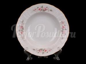 """Набор глубоких тарелок 23 см 6/1 """"Серая роза"""""""