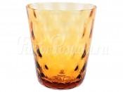 """Набор стаканов 300 мл 6 шт. """"Спотс"""" амбер"""