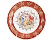 "Набор десертных тарелок 19 см 6 шт. ""Мадонна Красная"" ФР"