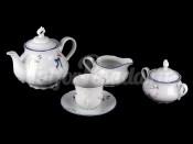 """Сервиз чайный """"Констанция Гуси"""" на 6 персон 15 предметов"""
