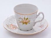 """Набор для чая """"Бернадотт 23011"""" чашка 160 мл. и блюдце на 6 персон 12 предметов высокие"""