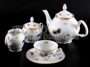 """Сервиз чайный """"Бернадотт 7812"""" на 6 персон 15 предметов"""