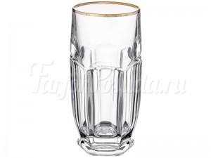 """Набор стаканов 300 мл 6 шт. """"Отводка золото"""" Сафари"""