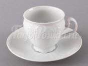 """Набор для чая """"Бернадотт 0000"""" чашка 140 мл. и блюдце на 6 персон 12 предметов"""