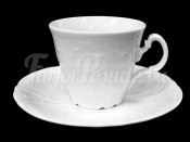 """Набор для чая """"Бернадотт 0000"""" чашка 160 мл. и блюдце на 6 персон 12 предметов высокие"""