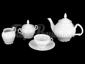"""Сервиз чайный """"Бернадотт 0000"""" на 6 персон 15 предметов"""