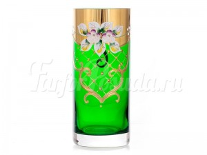 "Набор стаканов ""Лепка зеленая"" 300мл."