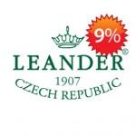 Скидка 9% на чешский фарфор Леандер
